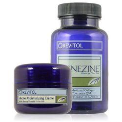 Acnezine - Tabletten und Akne Creme