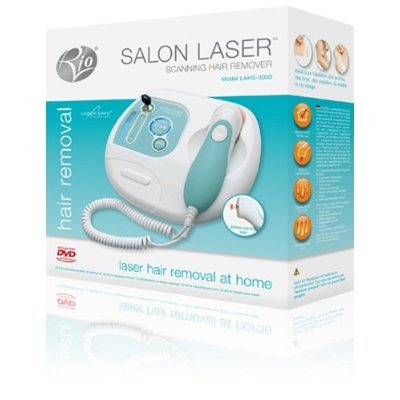 Rio Scanning Laser Hair Remover Packung